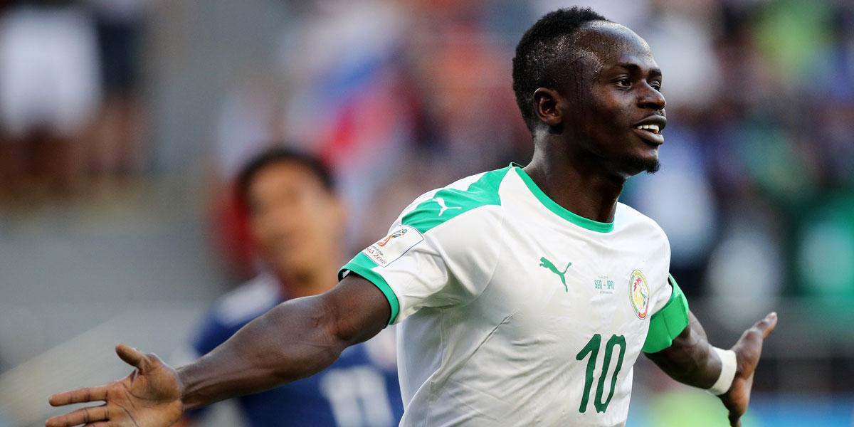 Senegal striker Sadio Mane