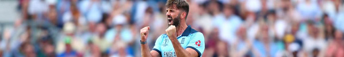 England bowler Liam Plunkett