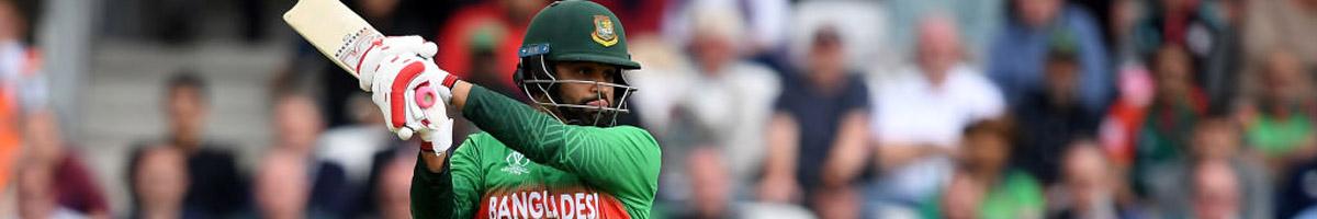 Tamim Iqbal of Bangladesh