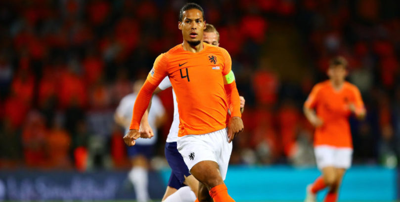 Virgil van Dijk of Netherlands