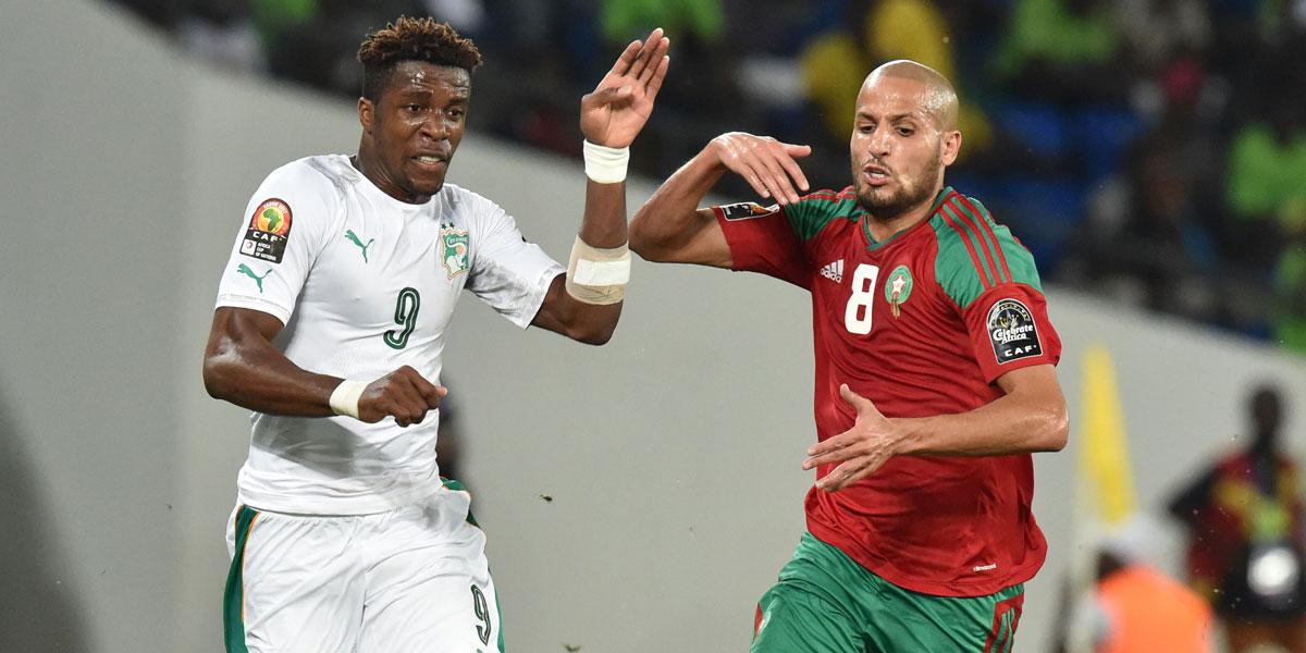 Ivory Coast forward Wilfried Zaha