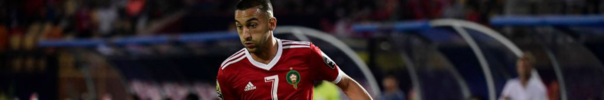 Morocco forward Hakim Ziyech
