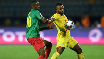 Benin captain Stephane Sessegnon
