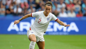 Lucy Bronze of England