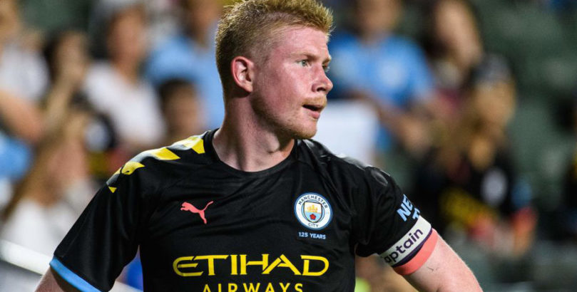 Man City midfielder Kevin De Bruyne