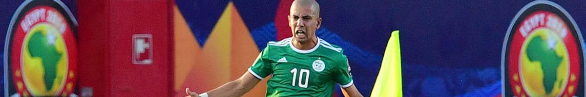 Algeria midfielder Sofiane Feghouli
