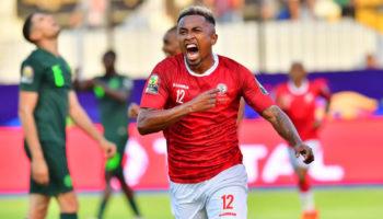 Madagascar midfielder Lalaina Nomenjanahary