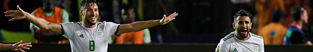 Man City star Riyad Mahrez