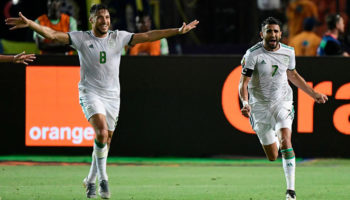 Algeria forward Riyad Mahrez