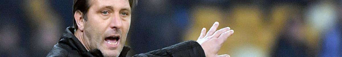 Olympiakos coach Pedro Martins