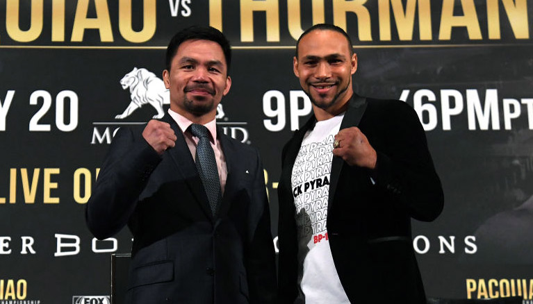 Pacquiao vs Thurman: Pac Man tipped to wear down One Time