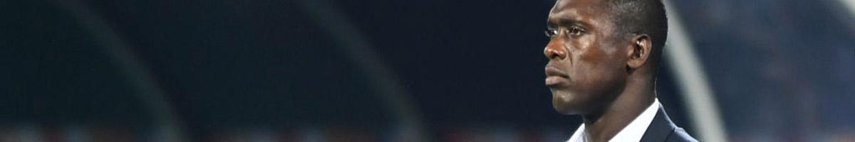Cameroon coach Clarence Seedorf