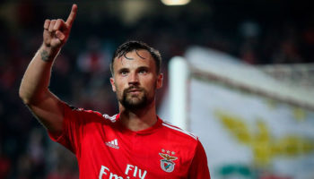 Benfica forward Haris Seferovic