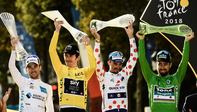 Tour de France: Bernal rated percentage pick ahead of Thomas