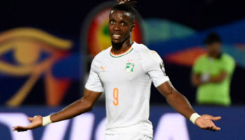 Ivory Coast forward Wilfried Zaha