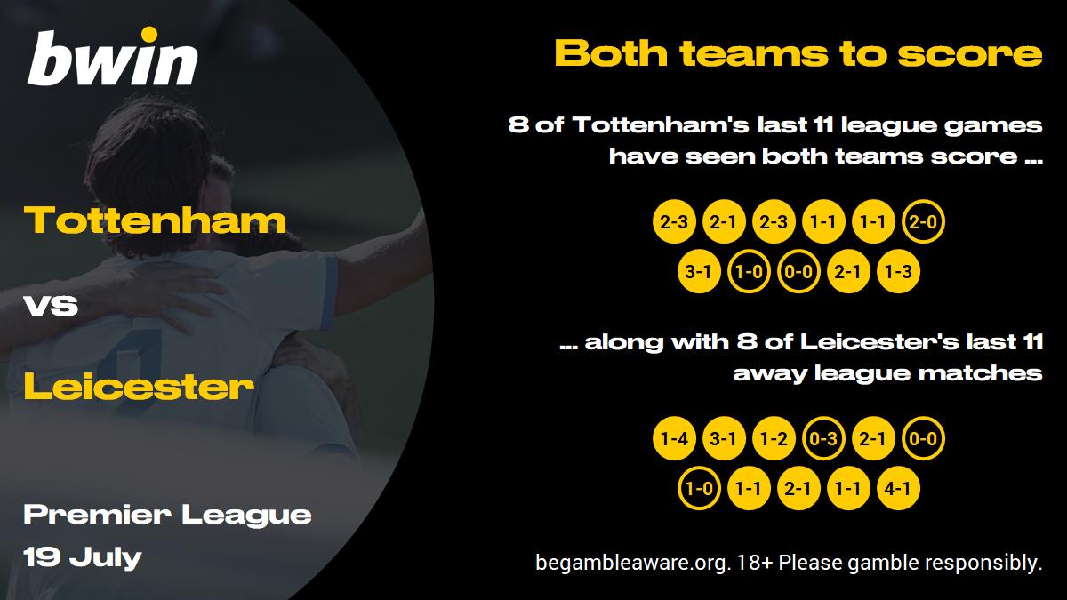 Tottenham vs Leicester prediction, Premier League, football