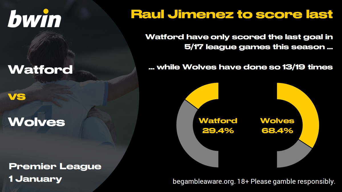 Watford Vs Wolves Prediction Betting Tips Odds 01 01 2020 Bwin