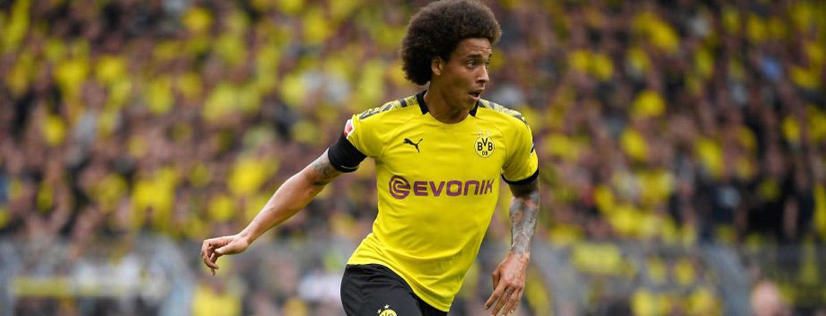Axel Witsel of Borussia Dortmund