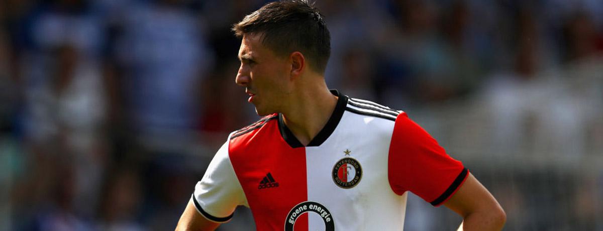 Steven Berghuis of Feyenoord