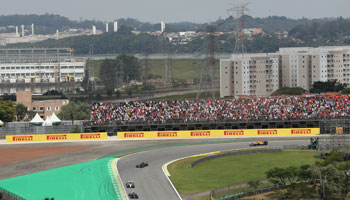 Virtual Brazilian Grand Prix: Leclerc to claim hat-trick of wins