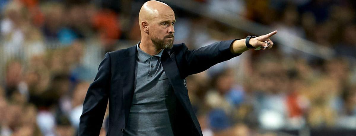 Ajax boss Erik Ten Hag