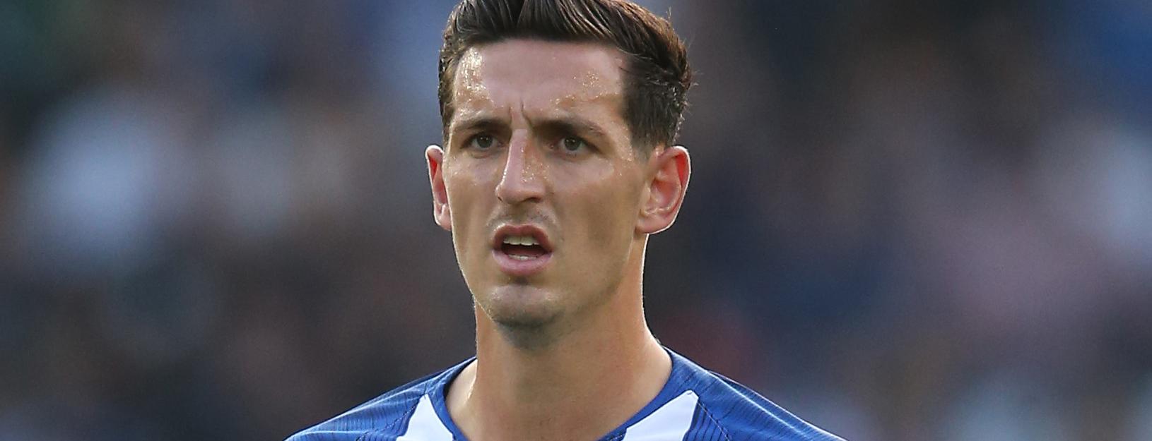 Brighton defender Lewis Dunk