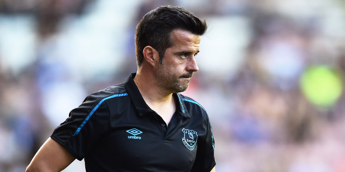 Everton boss Marco Silva