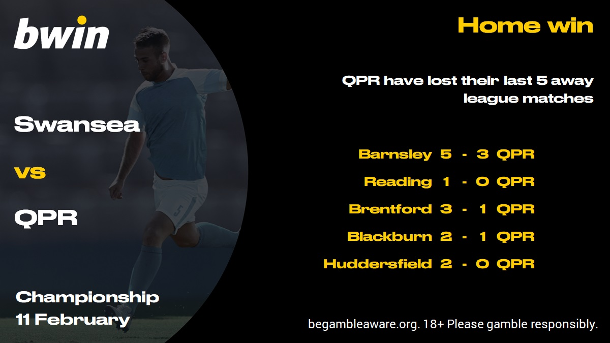 Swansea vs QPR form