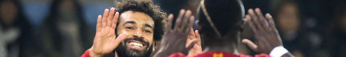 Liverpool stars Sadio Mane and Mohamed Salah