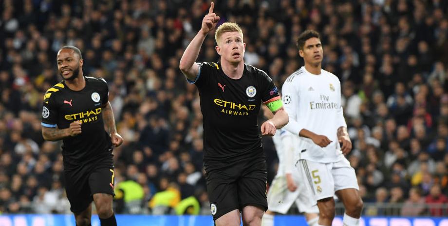 Image result for Manchester City vs Real Madrid 18 Maret 2020