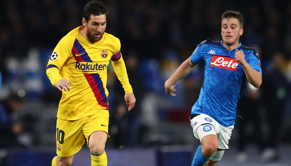 Barcelona vs Napoli: Catalan giants to come through