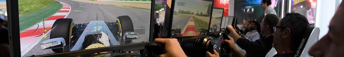 The Virtual Esports Grand Prix continues on Sunday
