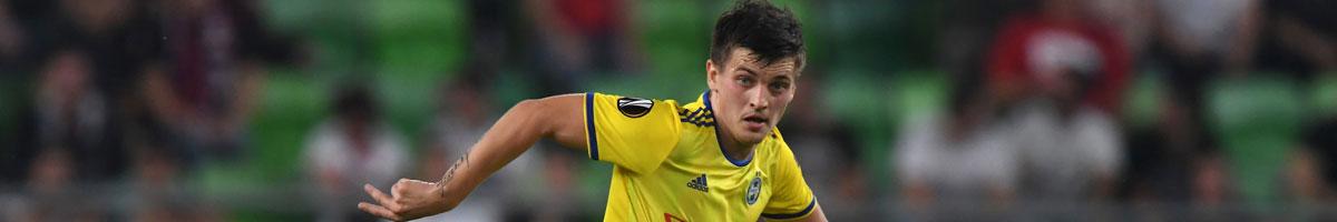 BATE midfielder Stanislav Dragun