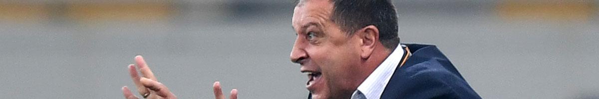 Shakhtyor Soligorsk manager Yuriy Vernydub