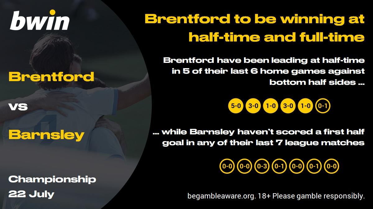 Brentford vs Barnsley prediction, Championship, football