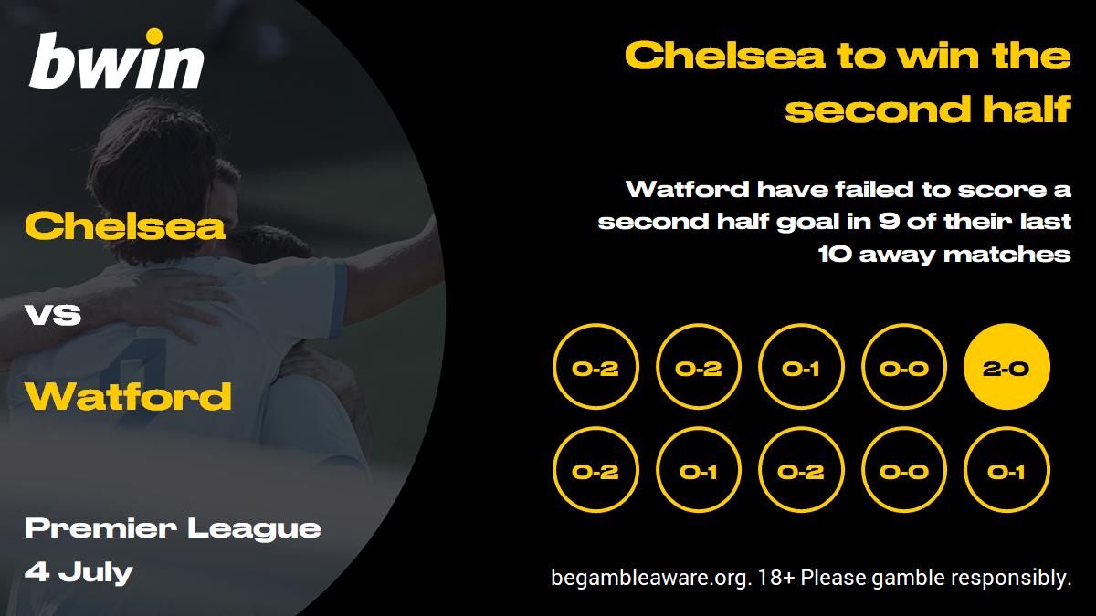 Chelsea vs Watford prediction, Premier League, football