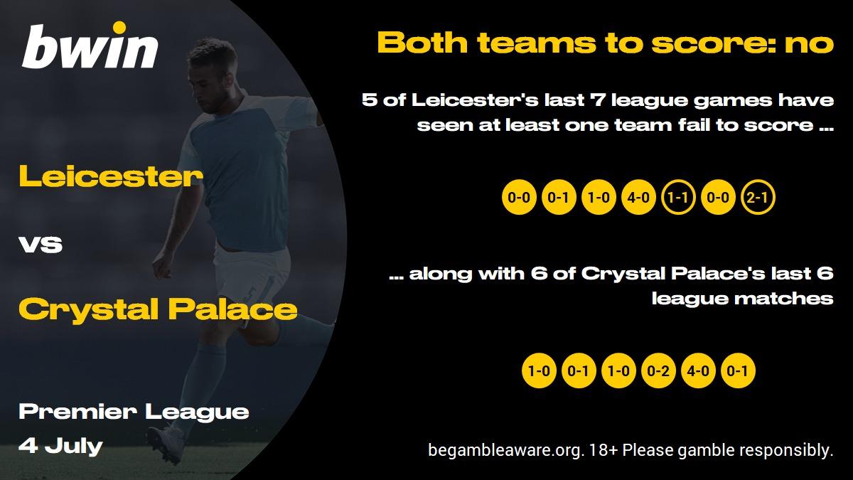 Leicester vs Crystal Palace prediction, Premier League, football