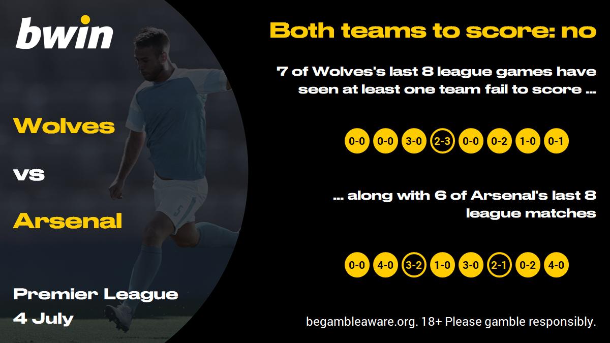 Wolves vs Arsenal prediction, Premier League, football