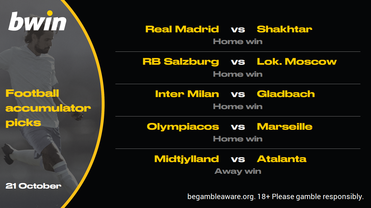 Champions League predictions, football