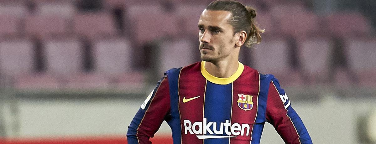 New Barcelona signing Antoine Griezmann