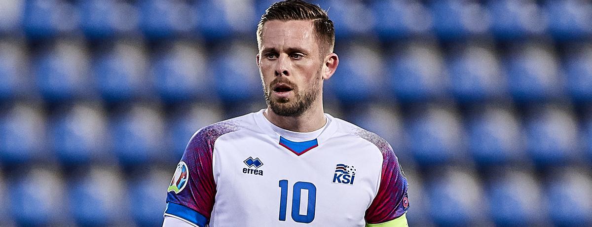 Everton star Gylfi Sigurdsson
