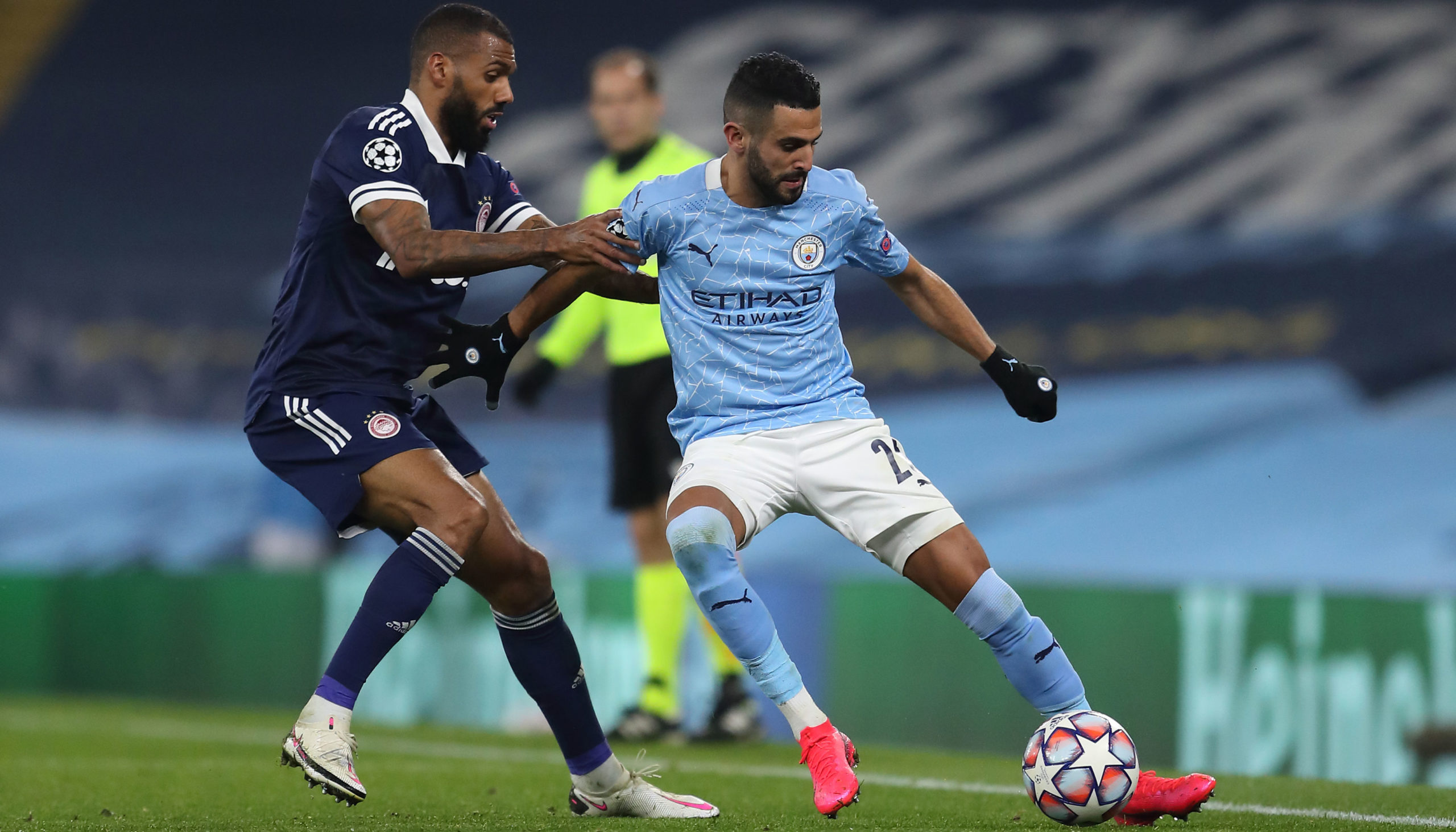 Olympiacos vs Man City: Greek relief for City
