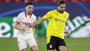 Borussia Dortmund vs Sevilla: Same again in second leg