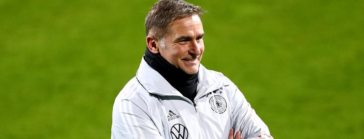 Germany U21 coach Stefan Kuntz