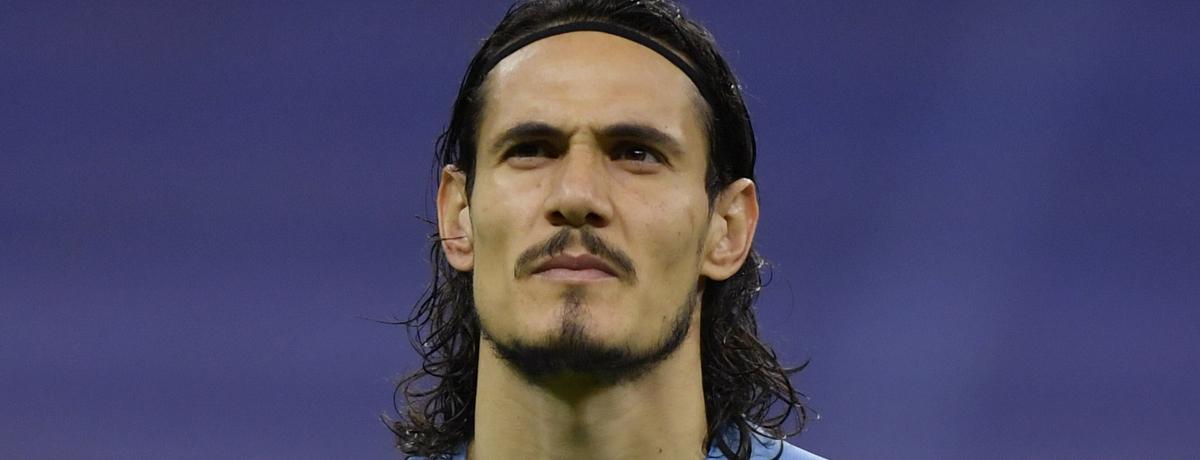 Uruguay striker Edinson Cavani