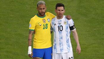 Brazil vs Argentina: Honours even in Sao Paulo