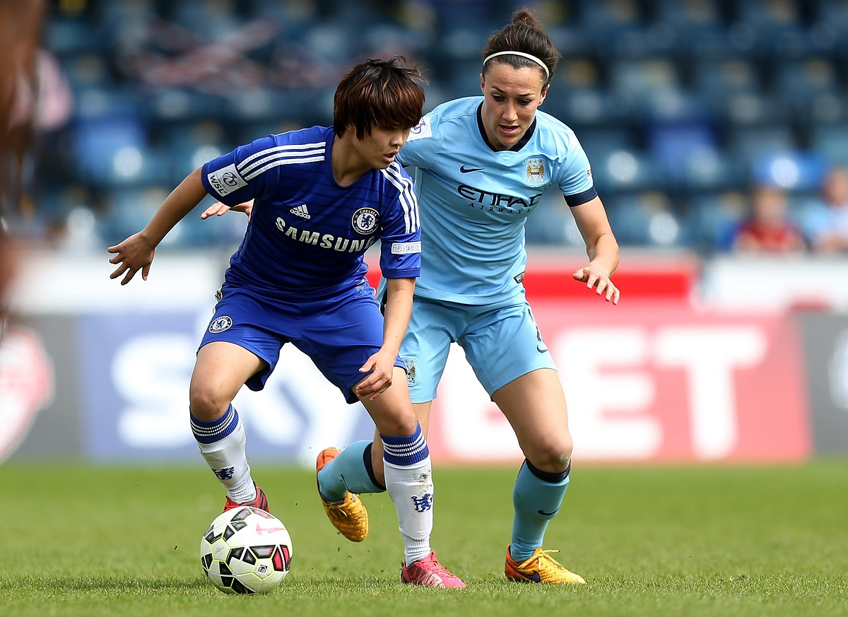 Chelsea Ladies v Manchester City Women: Women's FA Cup Semi Final