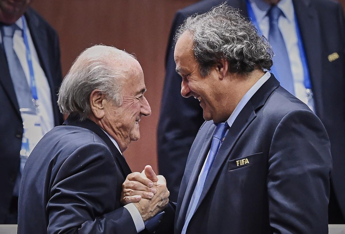 Blatter y Platini se ponen de acuerdo en pocas cosas, pero los fondos de inversión no es una de ellas.