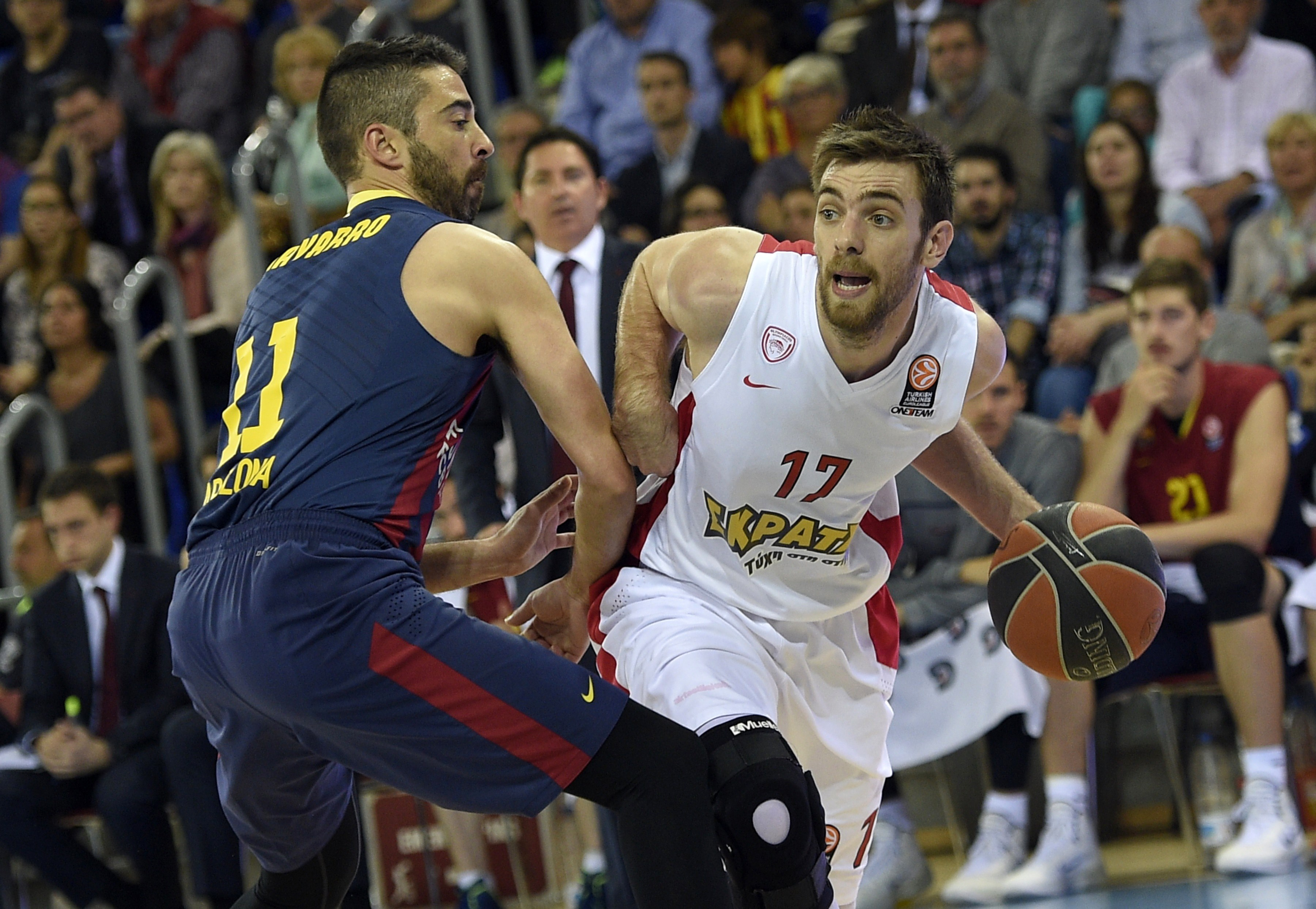 El Barcelona, uno de los equipos que sigue de cerca al líder Valencia.