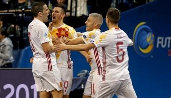 La España de fútbol sala, a dos pasos de la reconquista europea